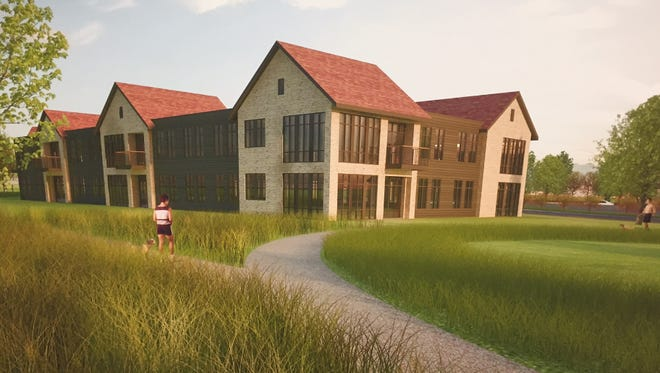 The Dunwood Commons apartment development would target high-end North Shore empty nesters.