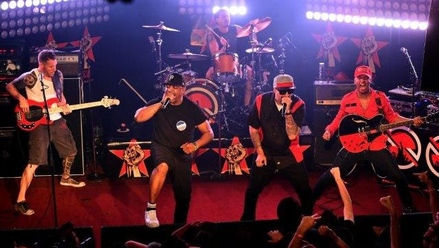 Prophets of Rage bring members of Rage Against the Machine, Public Enemy and Cypress Hill to Phoenix on the Make America Rage Again Tour.