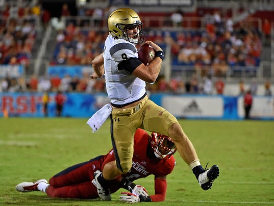 NCAA Football: Navy at Florida Atlantic