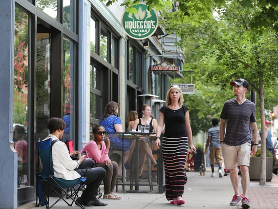 The revitalization of Vine Street in Over-The-Rhine was made possible in part due to federal historic tax credits.