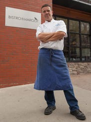 Executive chef, Herve Mahe, of the Bistro de Margot