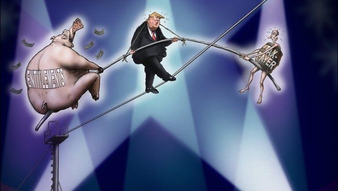 Sean Delonas, CagleCartoons.com, drew this editorial cartoon.