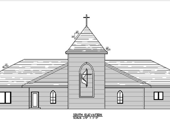 Maple Grove United Methodist Church plans to build a bigger church next to its historic 117-year-old structure.
