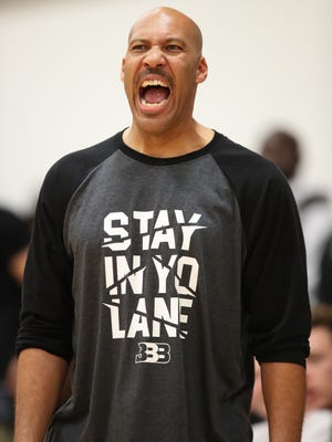 LaVar Ball ranted about a female referee after his ejection from an AAU game on Friday.