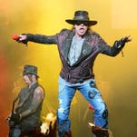 Axl Rose performs during the opening night of the band's second residency on May 21, 2014 in Las Vegas.