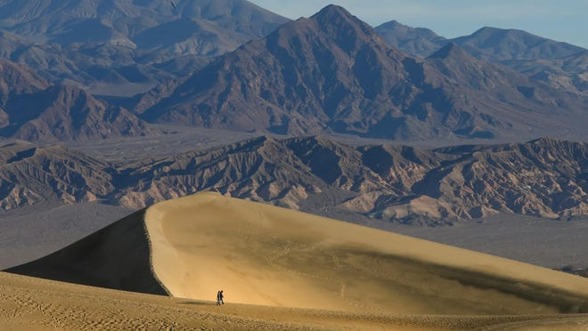 Temperatures in Death Valley hit a blistering 130 degrees on Sunday, Aug. 16, 2020. It is possibly the highest mercury reading on Earth since 1913.