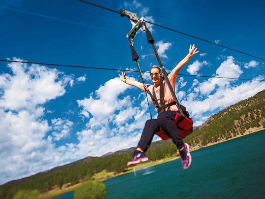The Apache Eagle ZipRider opened in February at the Inn of the Mountain Gods and takes guests over Lake Mescalero and reaches over 7,000 feet in elevation. The Apache Wind Rider ZipTour opened in January and is a longer ride beginning at 11,000 feet above the Apache Bowl.