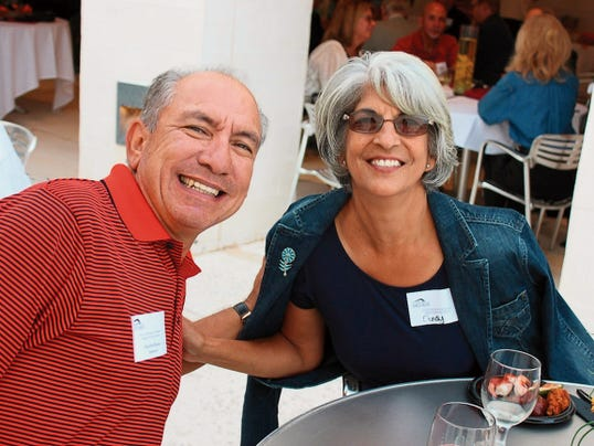 KOBR's Charlie Blanco and wife Cindy are huge supporters of the Spencer.