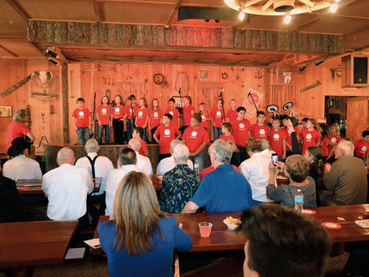 The annual Gospel Sing and Dessert Auction draws more than one hundred attendees for the music, fellowship and delectable sweets.