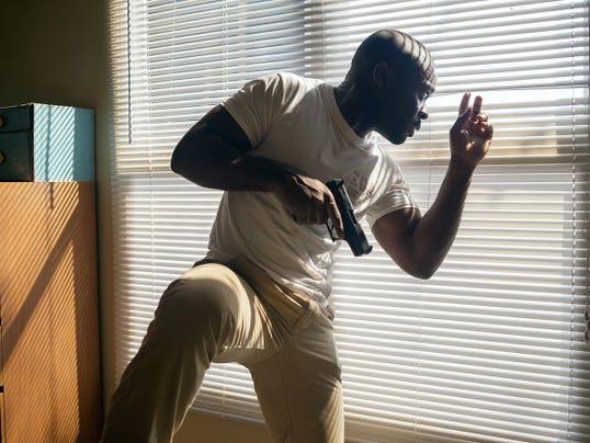 "David Oyelowo portrays Brian Nichols in a scene from ""Captive."""