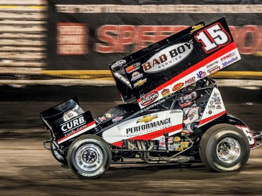 Donny Schatz won his fifth consecutive Knoxville Nationals race on Saturday, and his ninth in the last 10 years.