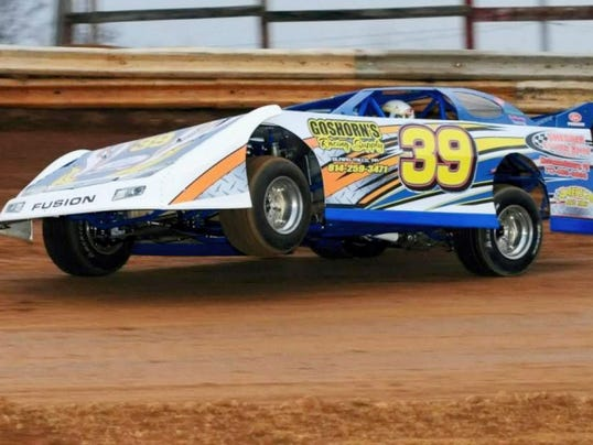 Path Valley Speedway holds events every Friday and Saturday night during the race season, including late model cars like the one pictured above.