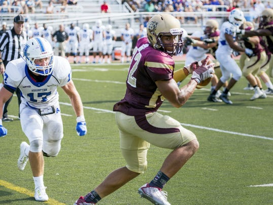 Kellen Williams of Chambersburg, playing for Kutztown University, was named the PSAC Eastern Division Offensive Player of the Week for his game against IUP last Saturday.