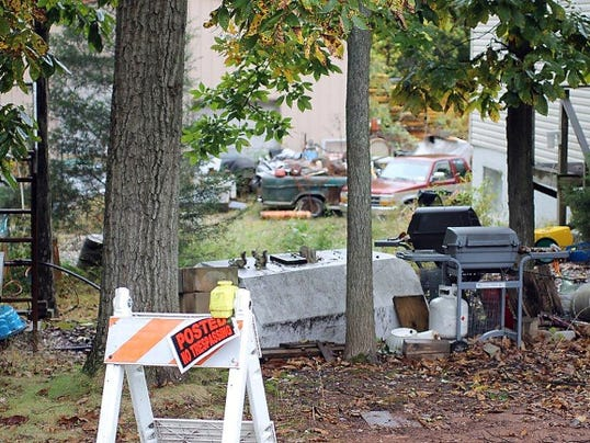 Martin Kepner murdered estranged wife Laurie Kuykendall Kepner and her friend, Barb Schrum, in the yard of the Kepners' Wellsville-area home on May 29, 2015. The property and everything on it will be auctioned off in coming weeks.