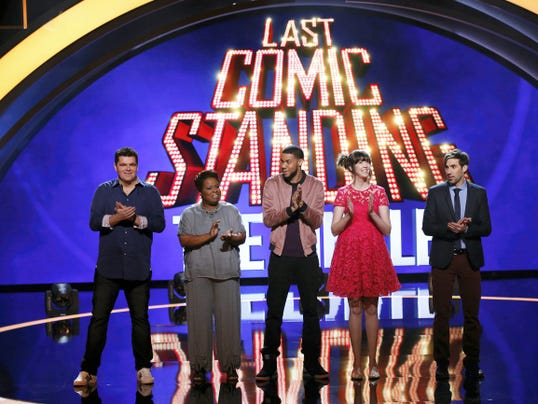 """The top five finalists from season nine of NBC's """"Last Comic Standing"""" will perform at the Strand-Capitol Performing Arts Center Oct. 20."""