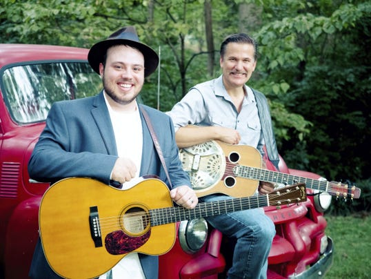 Dobro great Rob Ickes and up-and-coming country singer/guitar player Trey Hensley are coming to the Wagon Shed in New Freedom this weekend.