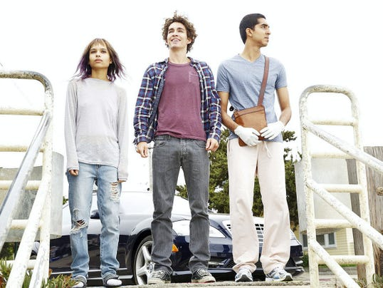 "Having travelled ""The Road Within"" and without Marie (Zoe Kravitz), Vincent (Robert Sheehan) and Alex (Dev Patel) reach their goal: the ocean where Vincent can scatter his mother's ashes."