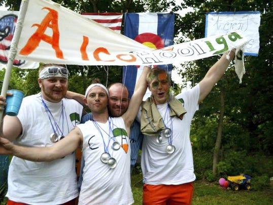 York Beer'lympics raised about $3,000 for Pennsylvania Veterans Foundation last year. Organizers of the Olympic-style beer competition hope to raise at least $4,000 this year.