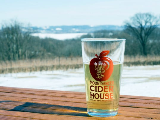 Moon Dancer Vineyard and Winery's Hard and Hoppy Cider is one of three ciders the winery and cider house will serve at the Hard Pressed cider and wine festival in Mechanicsburg Aug. 22.  The event is pay-what-you-want and will raise money for the Lisburn Community Fire Company.