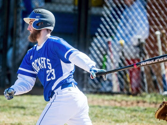 Spring Grove's Derek Hoiles bats against Lower Dauphin on Saturday. Lower Dauphin won, 10-0.