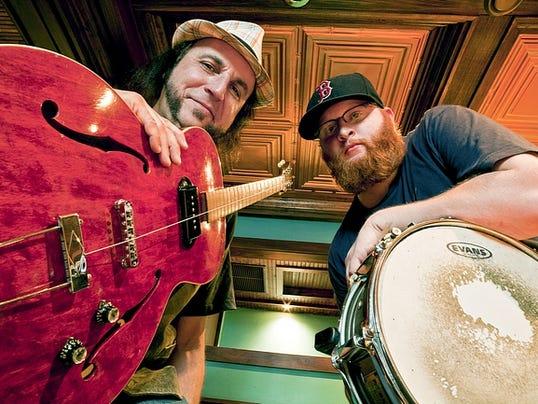 Touring juke blues band Scissormen will perform 9 p.m. Saturday