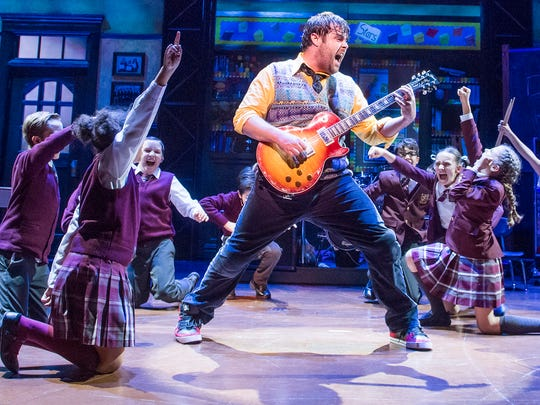 """School of Rock: The Musical"" is based on the 2003 Richard Linklater film starring Jack Black."