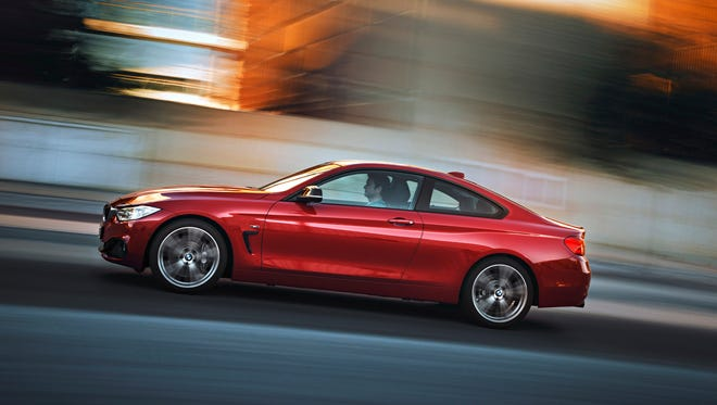 BMW 435i Coupé was added to BMW line late 2013 as a 2014. Uses 3-series chassis, slightly widened.