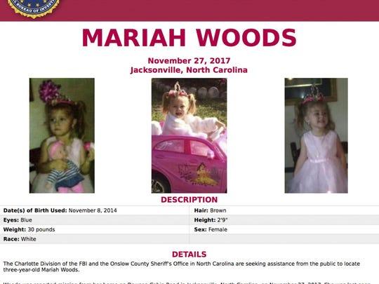 Missing Child-North Carolina