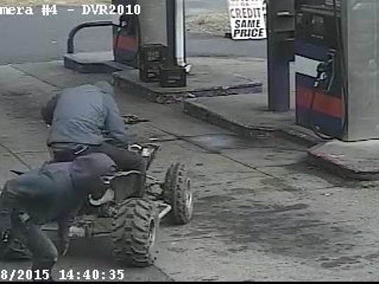 If anyone can identify the suspects, the vehicle or