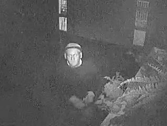 Church burglary suspect