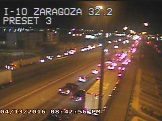 I-10 at Zaragoza