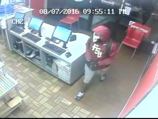 TPD is searching for a man it says robbed a Domino's