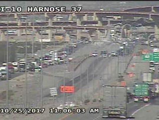 Texas Department of Transportation cameras show traffic