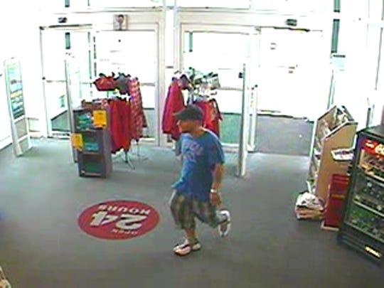 Richmond police say this man tried to rob a CVS pharmacy Sunday in Richmond.