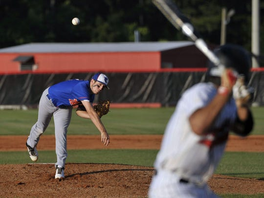 The Taylor County baseball team, shown here playing in the playoffs at West Florida Tech in Pensacola, may have to play regular season games 253 miles away from its home.