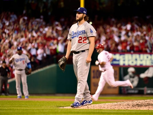 USP MLB: NLDS-LOS ANGELES DODGERS AT ST. LOUIS CAR S BBN USA MO