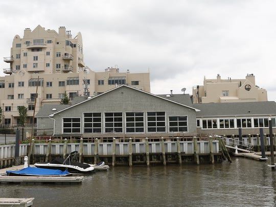 The former Nyack River Club restaurant in Nyack. bartaco has leased the space.