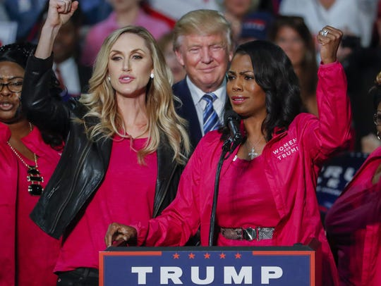 Members of Women for Trump, including his daughter-in-law