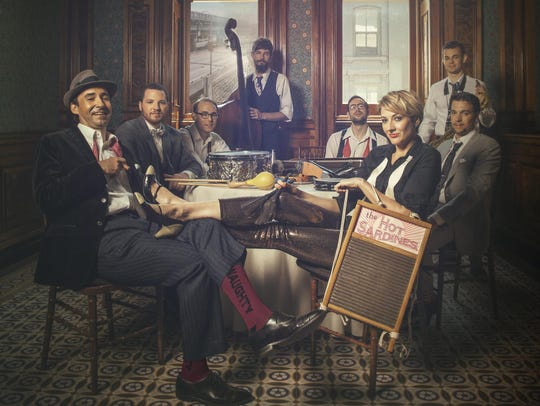 The Hot Sardines will perform at The Grand on Oct.