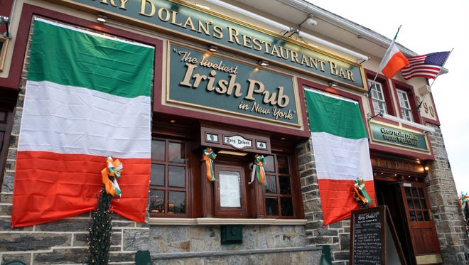 Rory Dolan's, an authentic Irish Pub is prepared to celebrate St. Patrick's Day. The exterior of Rory Dolan's Restaurant and Bar is photographed Feb. 28, 2013 in Yonkers. ( Tania Savayan / The Journal News )