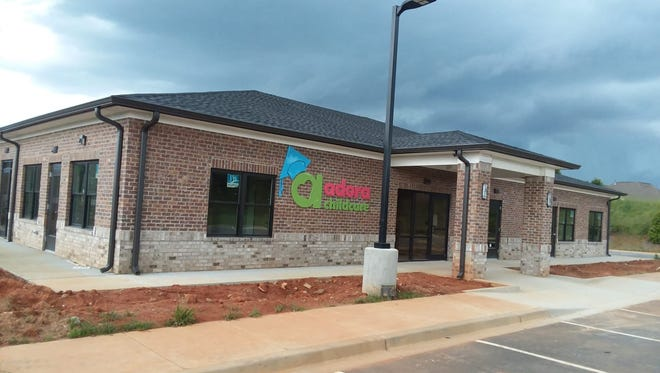 The new Adora Childcare center, which is set to open in mid-June on Woodruff Road.