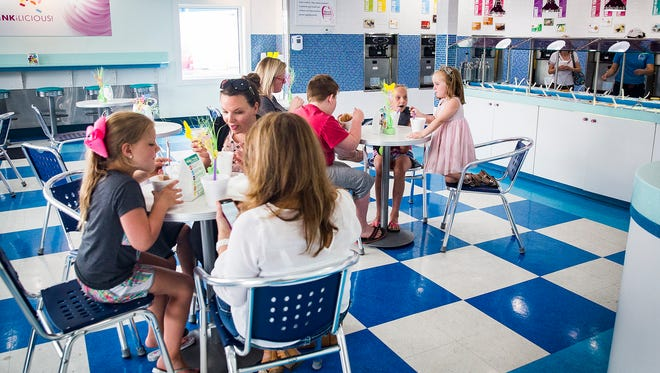 Berry Winkle is the only remaining self-serve frozen yogurt parlor in Muncie.