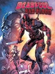 Rob Liefeld is drawing Deadpool again for a new graphic