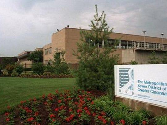 MSD headquarters in Cincinnati