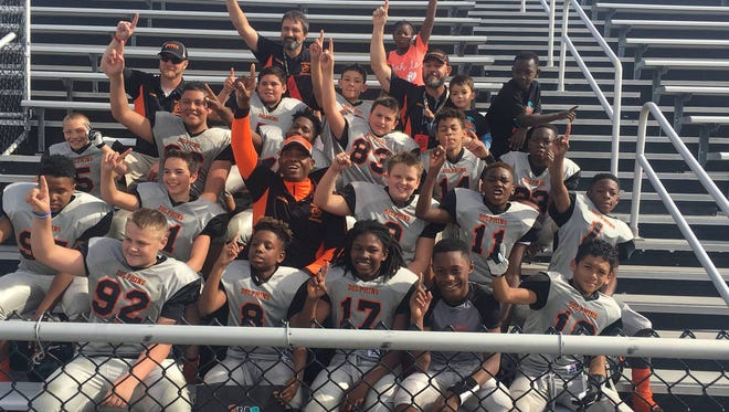 The Taylors-based Eastside Dolphins 12-and-under football team won a national championship Saturday in Daytona Beach, Florida.