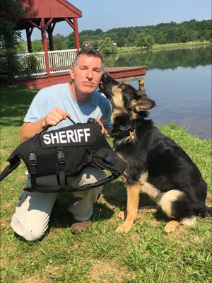 On July 6, children's book author James Waiter donated body armor to K9 Officer Bryn of the Middlesex County Sheriff's Office at Kennedy Park in Sayreville. The body armor was purchased through proceeds of children's book written by Waiter.