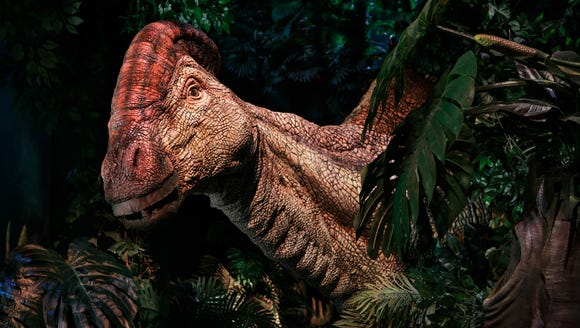 "Guests of the exhibit will ""travel to Isla Nublar"""