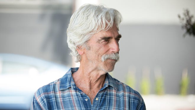 "Lee (Sam Elliott) is a faded movie star in ""The Hero."""