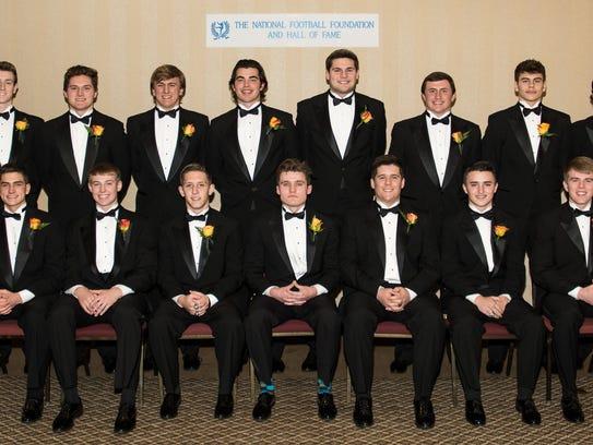 The Scholar-Athlete finalists at the National Football