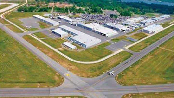 Dassault Falcon plant in Arkansas.